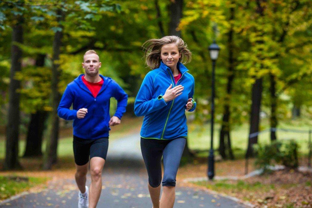 voor of na het eten hardlopen